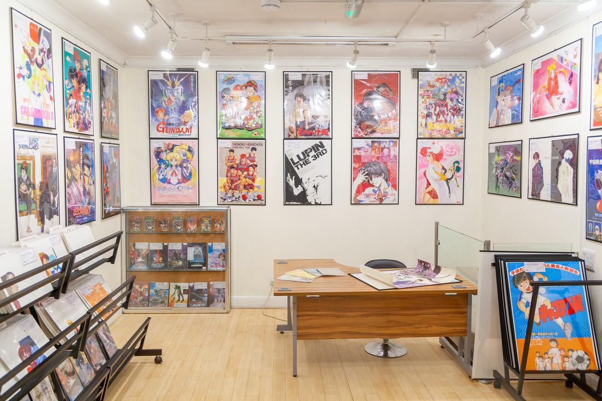 Japanese Gallery Kensington, Anime and Manga