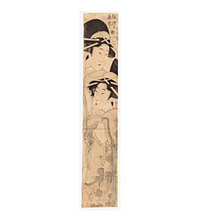 kitagawa kikumaro, beauties, japanese courtesans