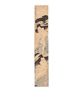 eizan kikugawa, japanese courtesans, hashira-e