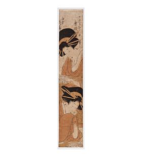 sekijo juka, japanese courtesans, hashira-e