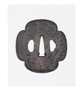 iron tsuba, hand guard