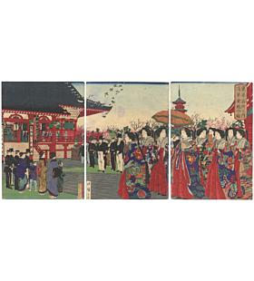 hiroshige III utagawa, asakusa