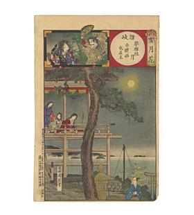 chikanobu yoshu, Kotohiki Shrine