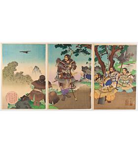 ginko adachi, japanese history, emperor jinmu