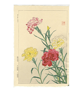 Shodo Kawarazaki, Carnations