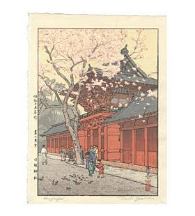 Toshi Yoshida, Hie Jinja, Shrine Visit, Shin-hanga, Modern Landscape