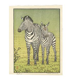 Toshi Yoshida, Zebras, Wildlife, Animal Print