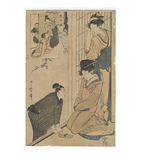 Utamaro Kitagawa, faithful Samurai, chushingura