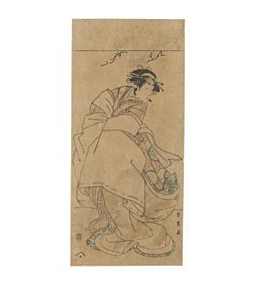 Shunei Katsukawa, Actor Segawa Kikunojo III, Kabuki Theatre