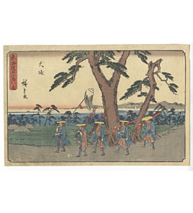 Hiroshige I Utagawa, Oiso, The Fifty-three Stations of the Tokaido