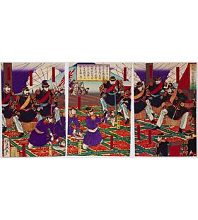 Toshimitsu Otsuki, Presenting the Head of the Rebel, Kagoshima War