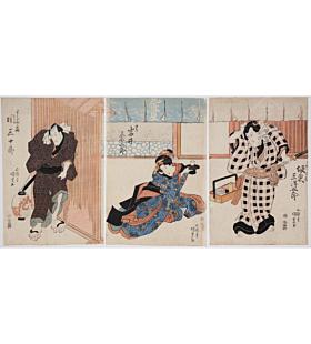 Kunisada I Utagawa, Zensei Kogane no Hana