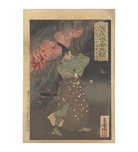 Yoshitoshi Tsukioka, Nitta Shiro Tadatsune, Yoshitoshi's Courageous Warriors
