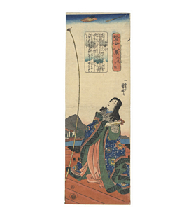 kuniyoshi utagawa, Yashima Yusho, Eight Views of Virtuous Women