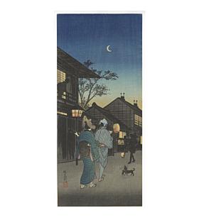 shotei takahashi, Evening at Shinagawa