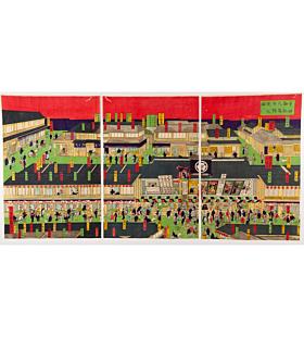kuniaki II utagawa, kabuki theatre, meiji era