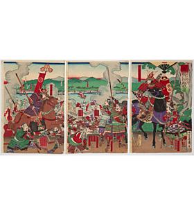mosai nagashima, Siege of Futamata, samurai, warrior, battle