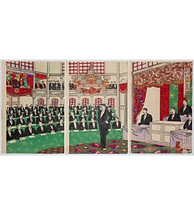 nobukazu yosai, japanese parliament, meiji era