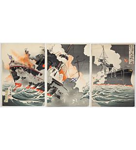 rosetsu, Russo-Japanese War, The Great Battle of Lu Shun Kou