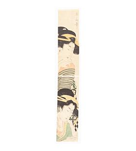 Eizan Kikugawa, Courtesans, Pillar Print, Hashira-e