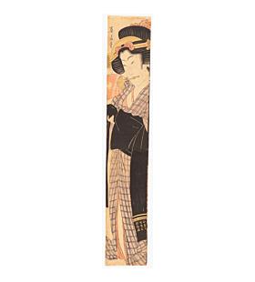 eizan kikugawa, courtesan, hashira-e