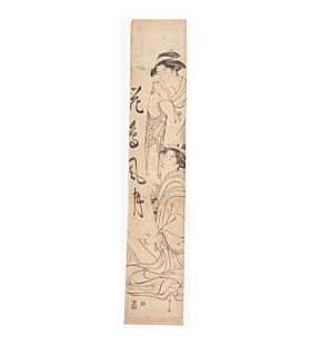 eishi chobunsai, hashira-e, beauty