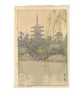 hiroshi yoshida, sarusawa pond