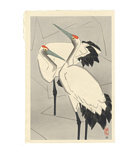 gakusui ide, Two Cranes