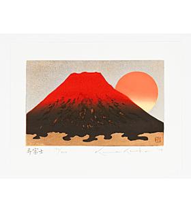 Kunio Kaneko, Kotobuki Fuji, Gold Leaf, Contemporary Art