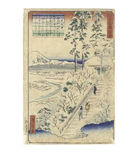 Hiroshige II Utagawa, Ushi Tenjin, Views of Famous Places in Edo