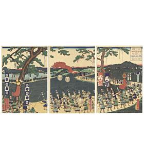 sadahide utagawa, warrior, samurai, japanese history