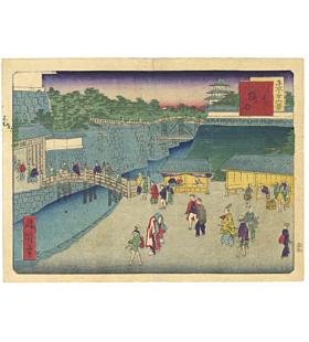 shosai ikkei, views of tokyo, landscape
