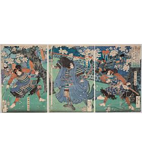 yoshitoshi tsukioka, The Tale of Kagekiyo Gate, Todaiji