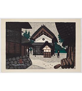 Kiyoshi Saito, Storage House, modern landscape