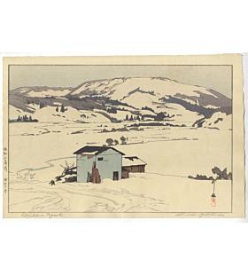 Hiroshi Yoshida, Winter in Taguchi