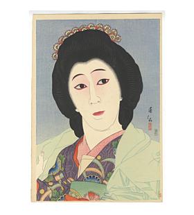 Shunsen Natori, Kabuki Actor Onoe Baiko VI