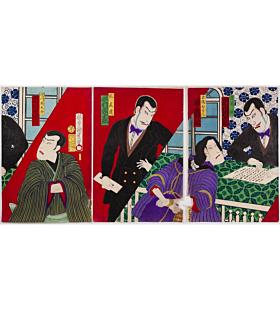 Kunimasa IV Utagawa, Meiji Era Theatre
