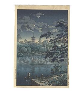 Koitsu Tsuchiya, Shinobazu Pond in Ueno