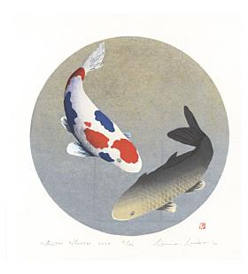kunio kaneko, whisper whisper 2020, japanese koi fish, contemporary art
