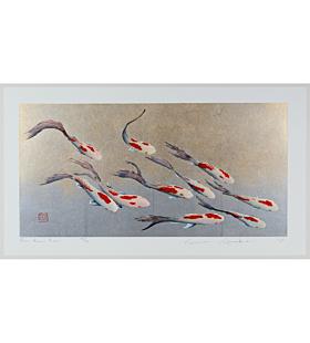 kunio kaneko, japanese contemporary art, goldfish, kingyo