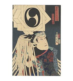 kunichika toyohara, edo fireman, kabuki actor, tattoo design