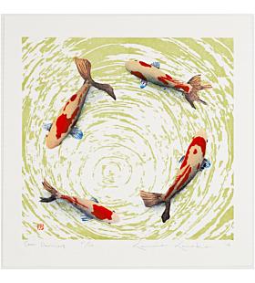 kunio kaneko, koi fish, come dancing, contemporary art