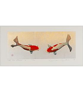 Kunio Kaneko, Let Me Whisper, Gold Leaf, Contemporary Art