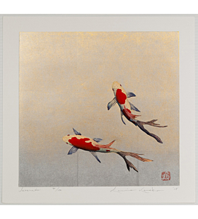 kunio kaneko, serenade, gold fish, contemporary art