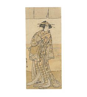 shunsho katsukawa, Kabuki Actor Segawa Kikunojo III as a Courtesan with a Pipe
