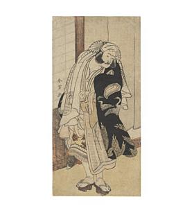 Shunjo Katsukawa, Kabuki Actor Iwai Hanshiro IV, Edo Period