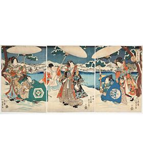 kunisada II utagawa, the tale of genji