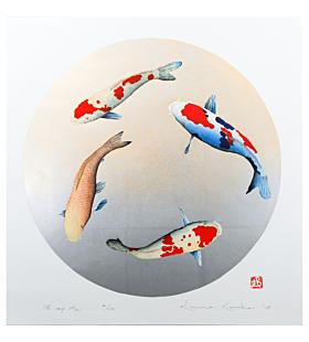 kunio kaneko, contemporary art, japanese koi fish, oh my mai