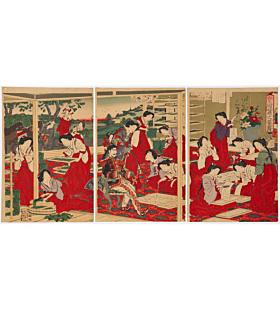 Imperial Japan, Making Silk