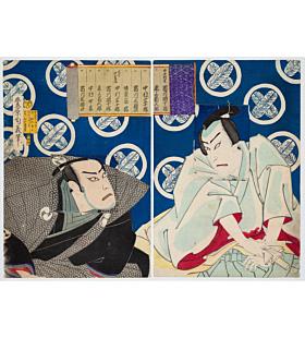 chikayoshi toyohara, kabuki theatre, actors